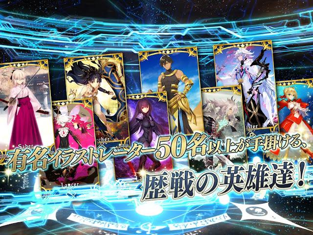 Fate Grand Order Mod Apk, Fate Grand Order JP Mod Apk