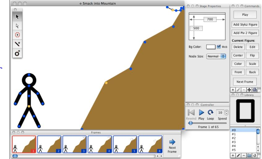 Stykz is a freeware  2D animations software