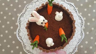 The bunny cake