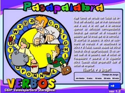 http://cpvaldespartera.educa.aragon.es/pasapalabras/w_verbos.swf