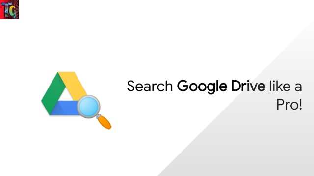 Search Google Drive Like a Pro!