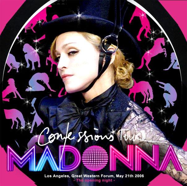 madonna confessions tour poster - photo #25
