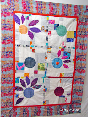 Quilt sampler for Circles Demo