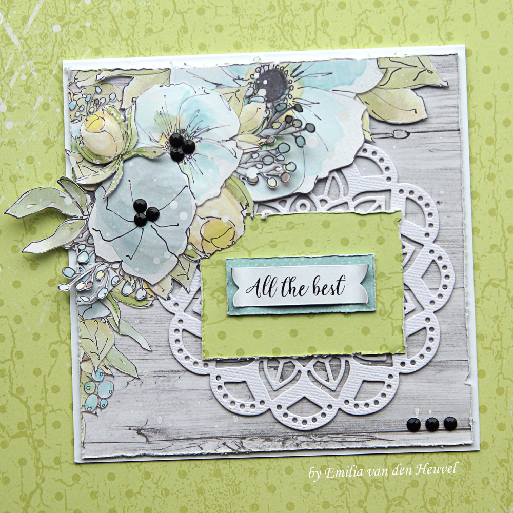 Scrap And Craft All The Best Card With Craft Oclock