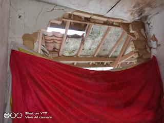 Rumah Rusak Akibat Gempa, Tak Kunjung Diperbaiki