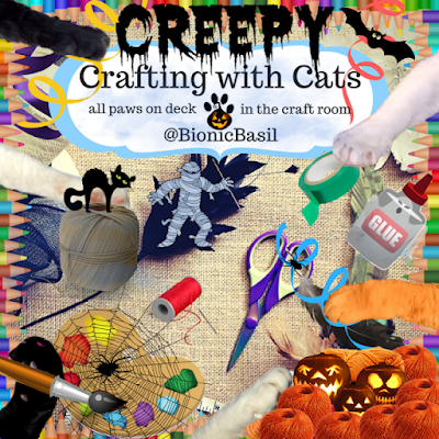 Creepy Crafting with Cats Banner ©BionicBasil®