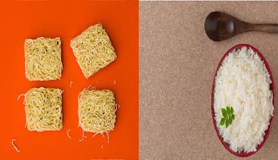 3 Bahaya mengkonsumsi mie dan nasi secara bersamaan,beserta solusinya