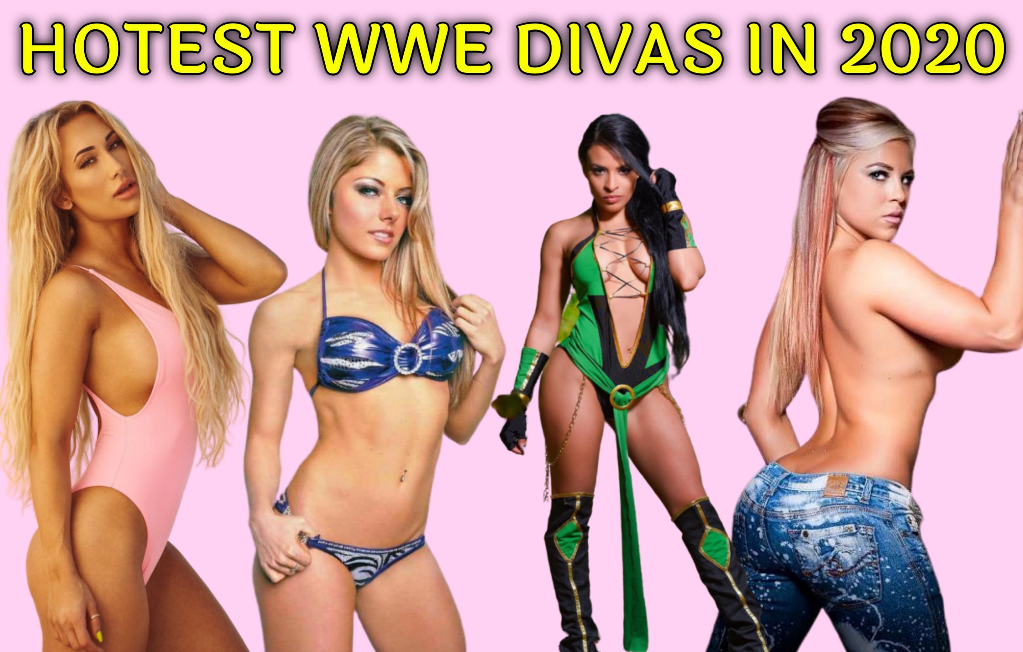 HOTTEST WWE DIVAS IN 2020