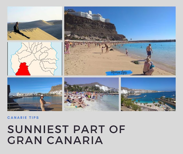 gran canaria sunniest part