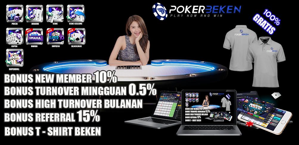 Pokerbeken Bagi-Bagi Kaos Gratis