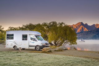 Maui, Cascade, Campervan, Glenorchy, Laurie Winter