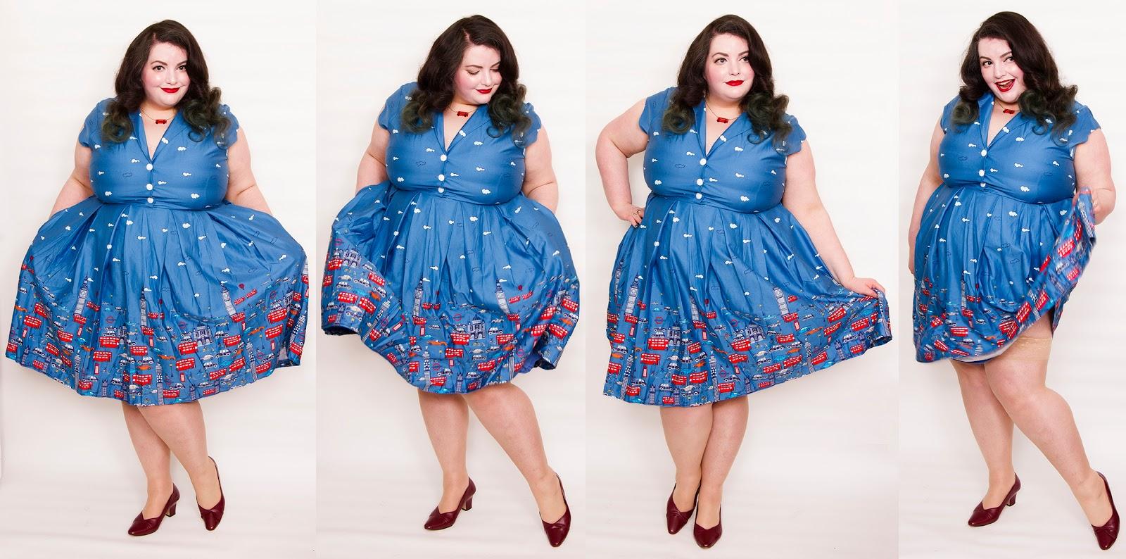 29f7a85c2f293 Dress: Gilda London Traffic Jam Print Swing Dress from Lindy Bop (£36)