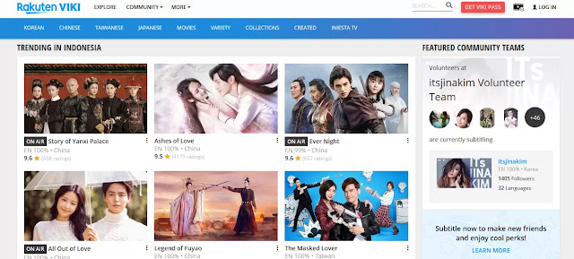viki situs download drama korea subtitle indonesia