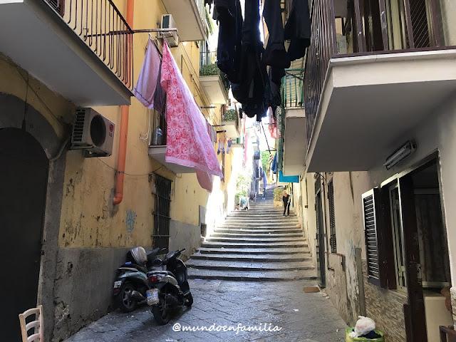 Calles de Nápoles