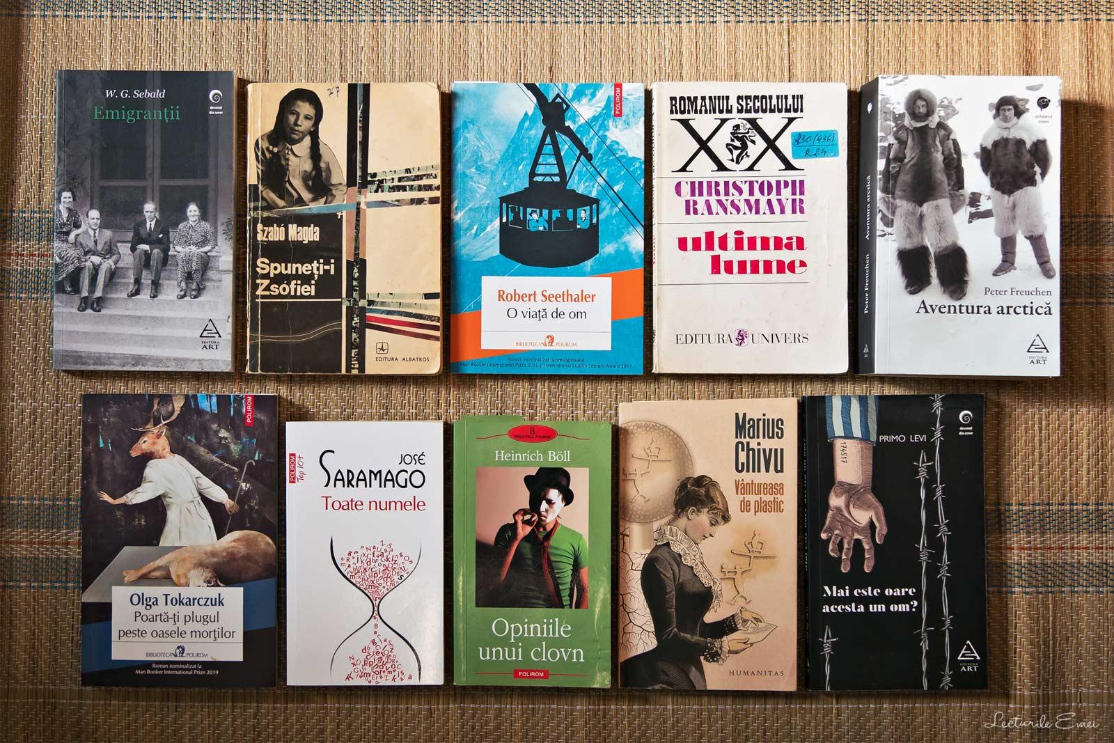 Cărțile preferate citite în 2019 recomandări de lectură
