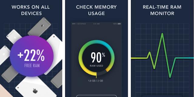 تطبيق getspace لزيادة سرعه الهاتف للايفون اخر اصدار 2017