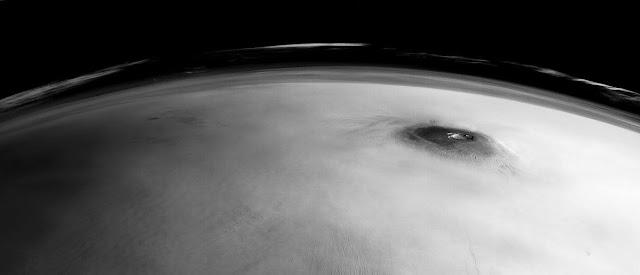 Supervulcão marciano