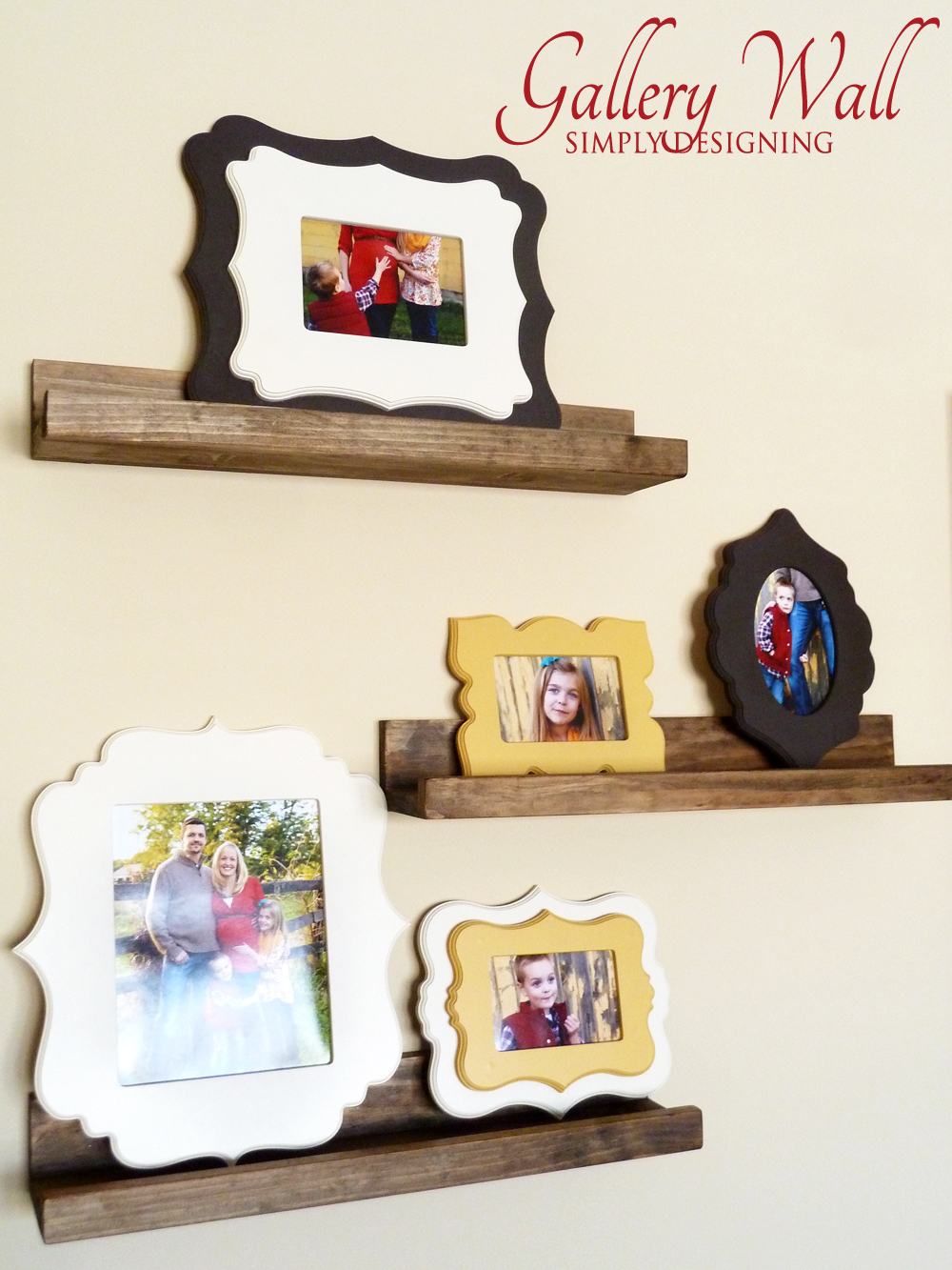 Chic Frames for Gallery Wall | #homedecor #frames #gallerywall