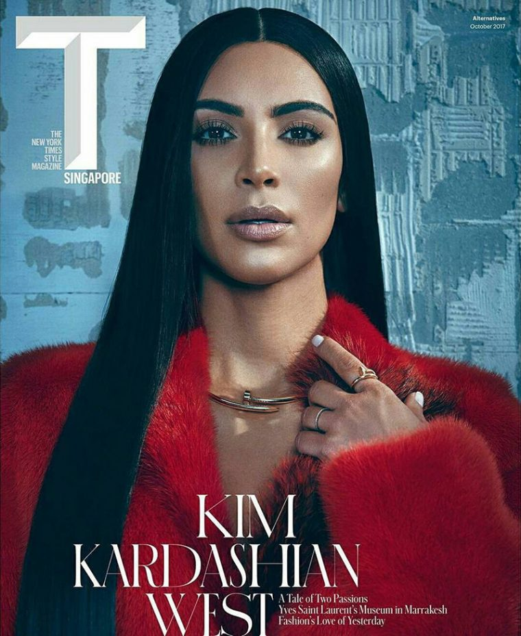 Kim Kardashian On T Singapore