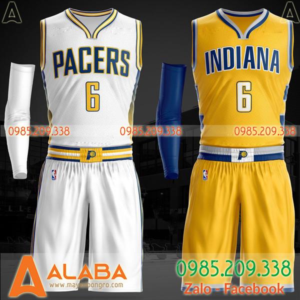 Áo bóng rổ Indiana cổ tim hot