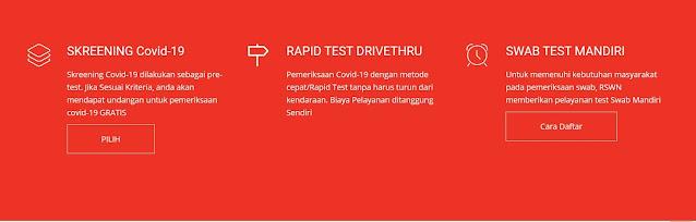 test covid di RSWN