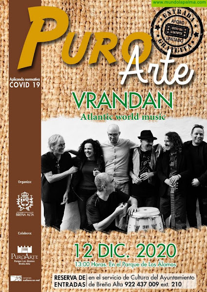 PURO ARTE presenta a VRANDAN en concierto