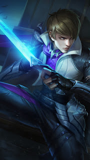 Gusion Holy Blade Heroes Assassin Mage of Skins V2