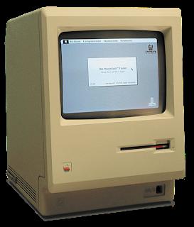 la primera computadora Macintosh