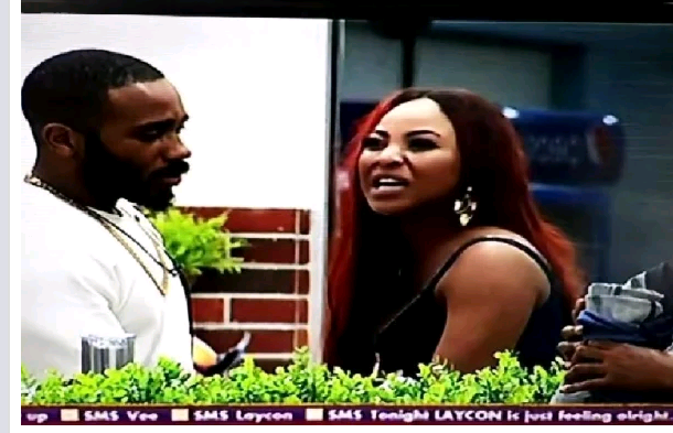 "#BBNaija: ""You Are A Skinny Fool"" – Erica Loses Her Cool, Drags Laycon to Filth (video)"