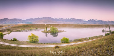 New Zealand, NZ, Twizel, Loch Cameron, Sunrise