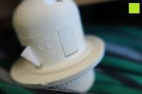 Aufkleber: kwmobile E27 Lampenfassung 3,5m Weiß - Netzkabel mit Schraubring Schalter - Lampenhalter und Kabel - Pendelleuchte - Lampenaufhängung - Hängeleuchte