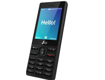 jio phone operating system