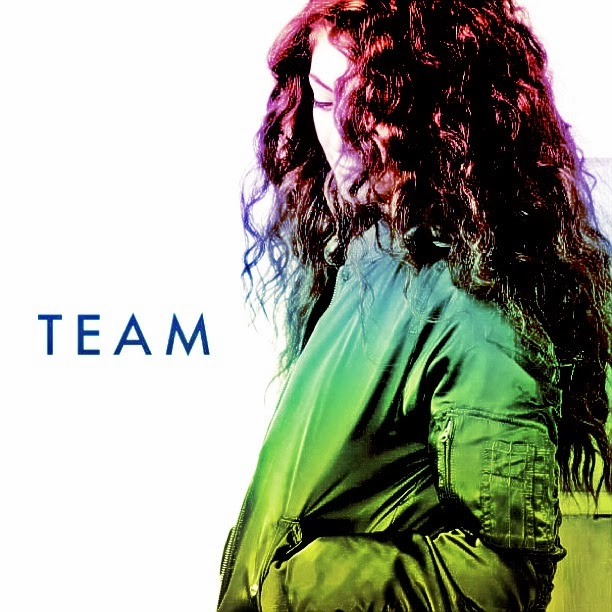 That's A Good Blog: NEW VIDEO: LORDE - TEAM