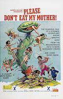affiche de la comédie érotique LA PLANTE QUI AIMAIT LES FEMMES !