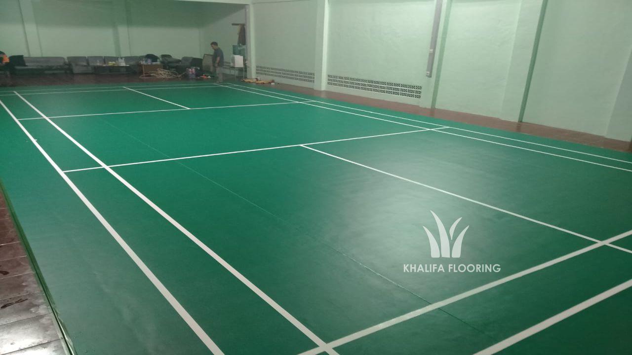 Karpet Badminton Lantai Vinyl