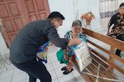 Turun Reses Sempatkan Berbagi Kasih,NICK LOMBAN : Ijinkan Saya Berbagi