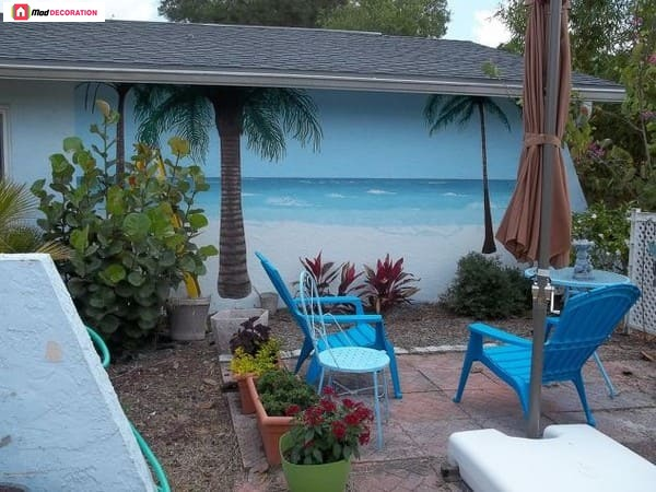 14 Wonderful Beach Style Outdoor Living Ideas for Your Yard