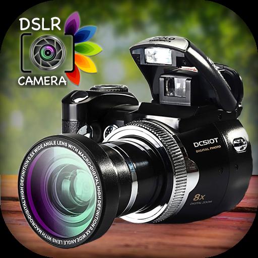 تحميل تطبيق DSLR HD Camera 4K HD Camera Ultra Blur Effect Premium 5.3 لهواتف الاندرويد اخر اصدار