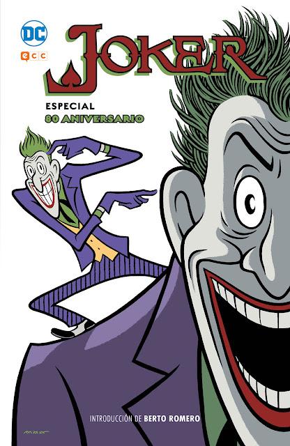 Se celebra el 80 aniversario del Joker con una edición de Berto Romero y Max