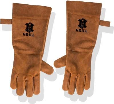 Leren bbq handschoenen Leertheorie