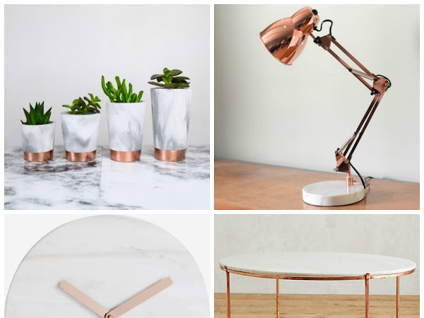 Copper and Marble Lovin'