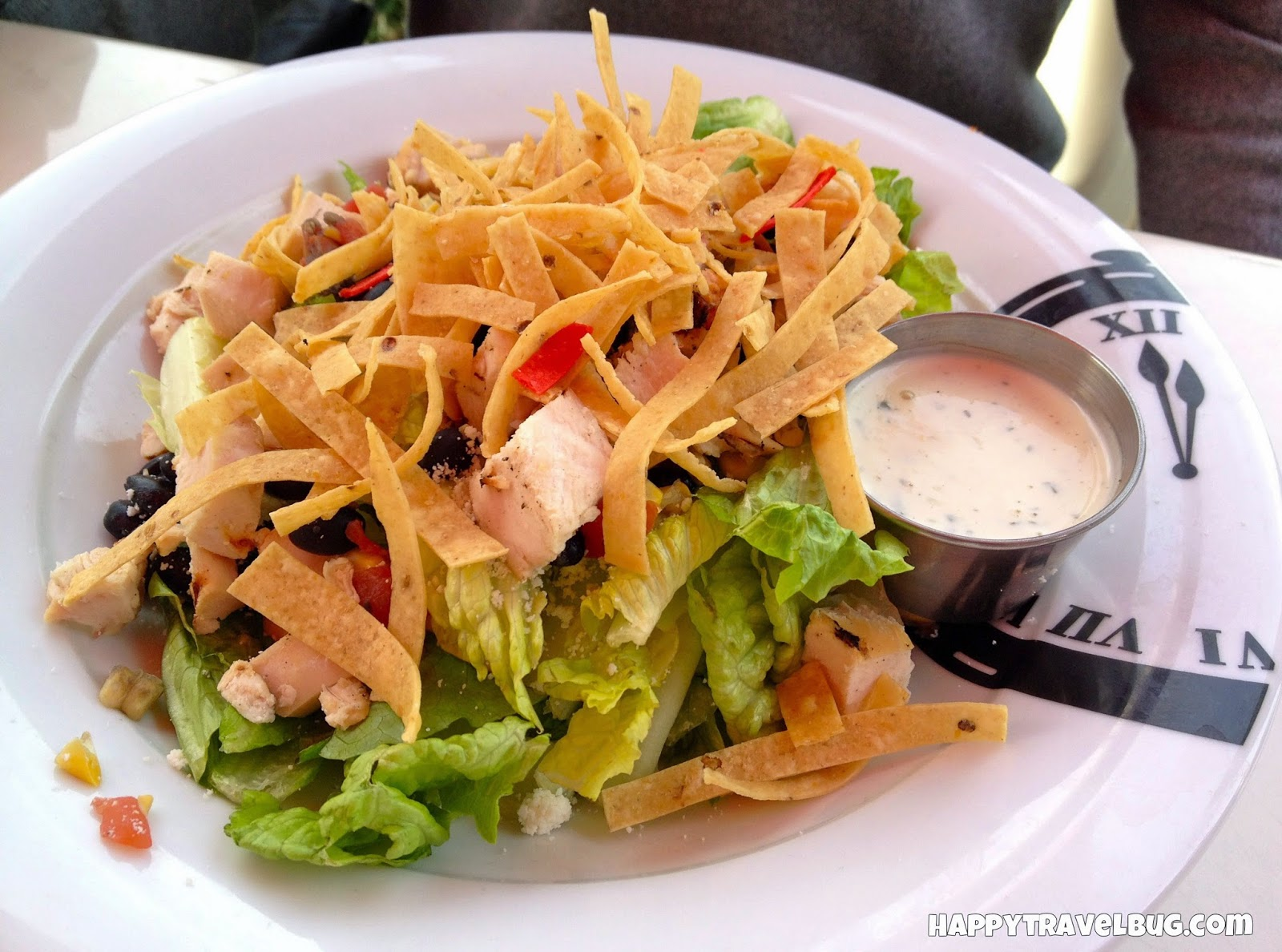 Tex-Mex chicken salad from Serendipity 3 in Las Vegas