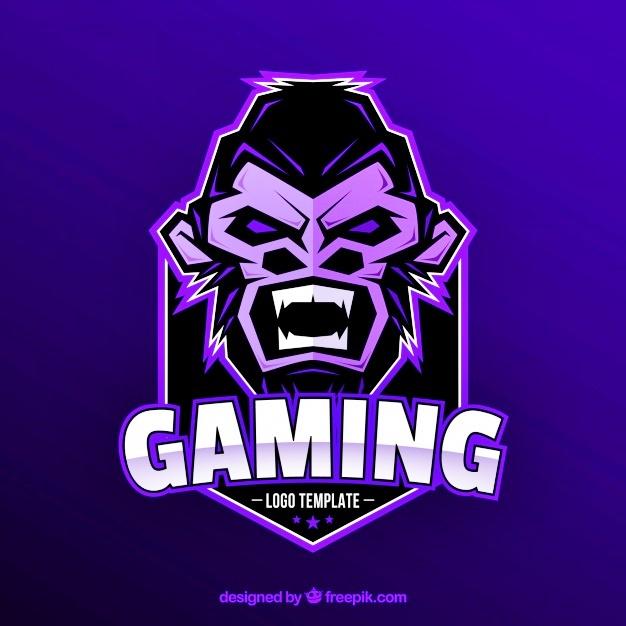 Desain Logo Gorilla Gaming