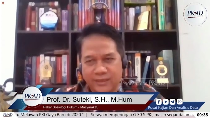 Kala Dua Guru Besar Bicara Soal Neo Komunisme