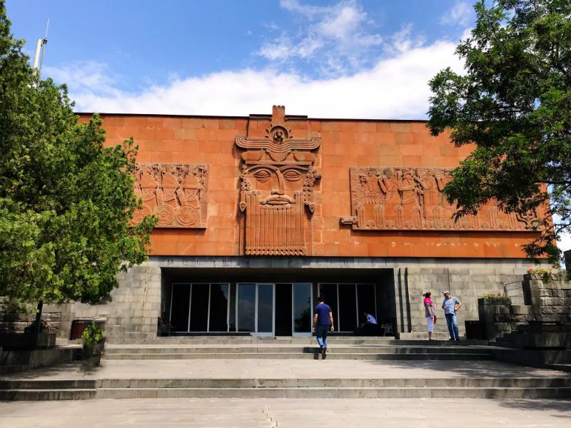 Erebuni Museum in Yerevan, Armenia