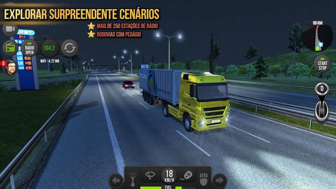 Caminhao Simulator 2018 : Europe MOD DINHEIRO INFINITO 1.2.9