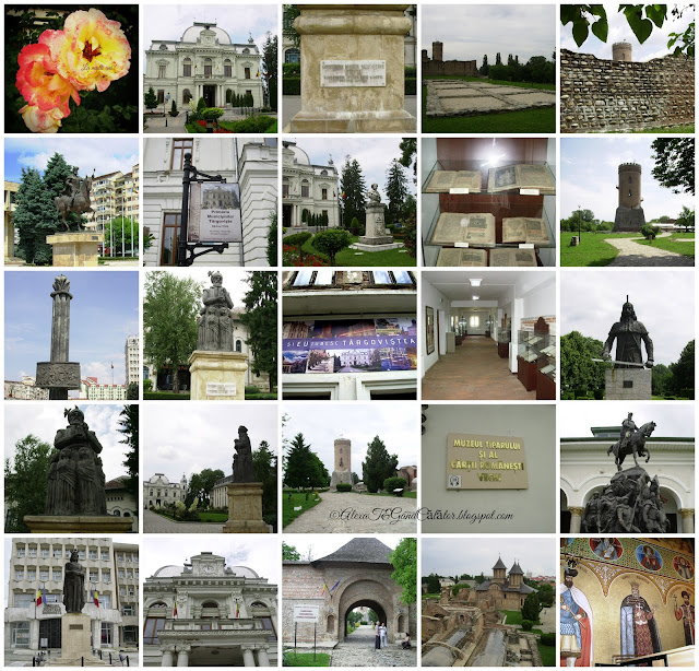 """Târgoviște (alternative spelling: Tîrgoviște; Romanian pronunciation: [tɨr.ˈɡo.viʃ.te]) is a city in Romania, being the county seat of the Dâmbovița County. It is situated on the right bank of the Ialomiţa River. At the 2011 census Târgoviște had a population of 73,964,[1] making it the 26th largest city in Romania. One of the most important cities in the history of Wallachia, it was its capital between the early 15th century and the 16th century.""""Târgovişte este un municipiu, reşedinţa de judeţ şi cel mai mare oraş al judeţului Dâmboviţa (Muntenia, România). Are o populaţie de aproximativ 89.000 de locuitori. Reşedinţă domnească şi capitală între 1396 şi 1714, oraşul a deţinut mai bine de trei secole statutul de cel mai important centru economic, politico-militar şi cultural-artistic al Ţării Româneşti.""  Read more on Wikipedia"