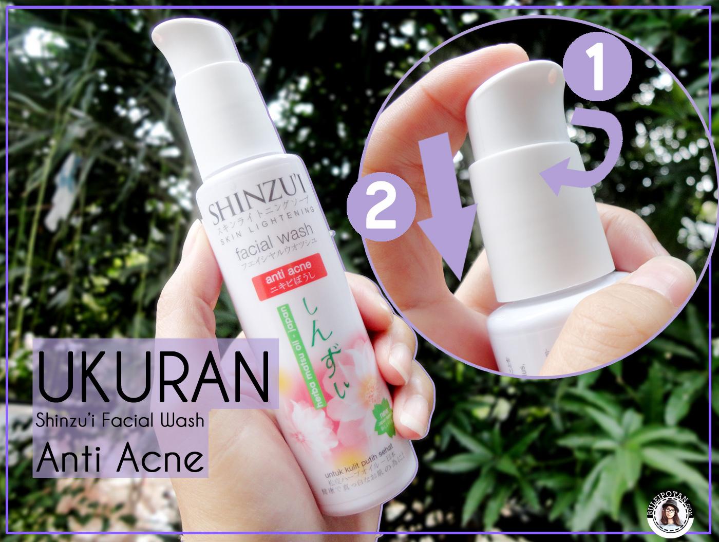 Product Review Shinzui Punya Sabun Cuci Muka Untuk Kulit Dua Buah Ume Herba Natural Oil Pemutih Badan Wajah Berjerawat