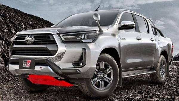 Toyota Hilux 2021 con piezas GR