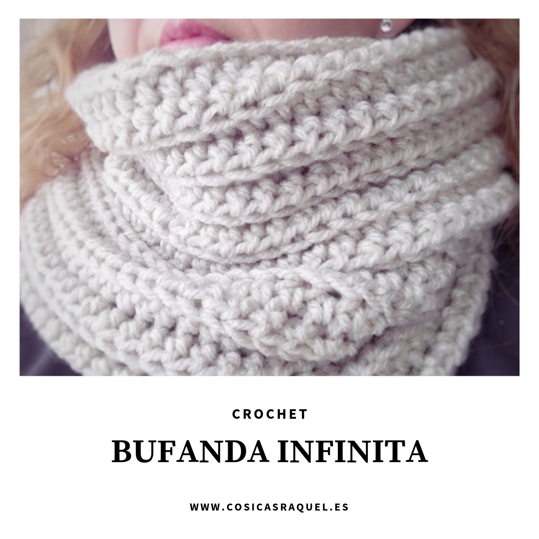 Bufanda Infinita a Crochet - Handbox Craft Lovers | Comunidad DIY ...